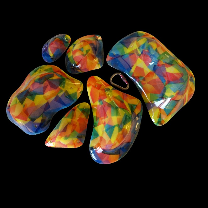TriPoint composite climbing holds BUTTERFLY MULTI fot1